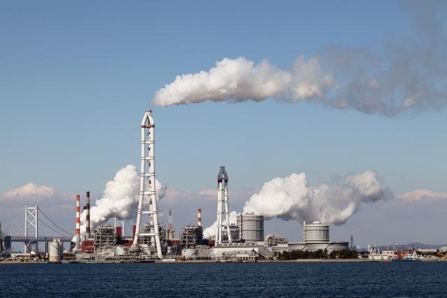 工場排ガスイメージ