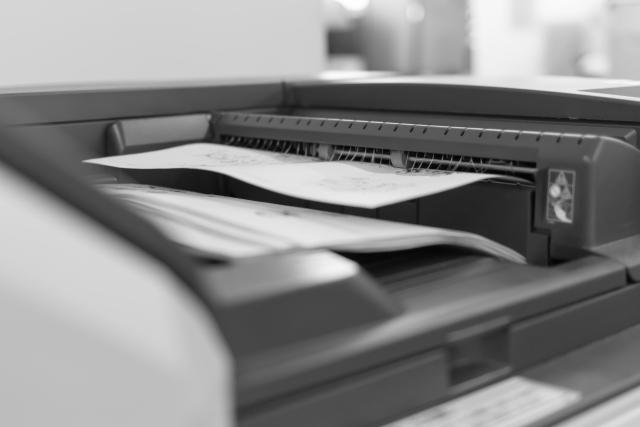 複合機で大量印刷